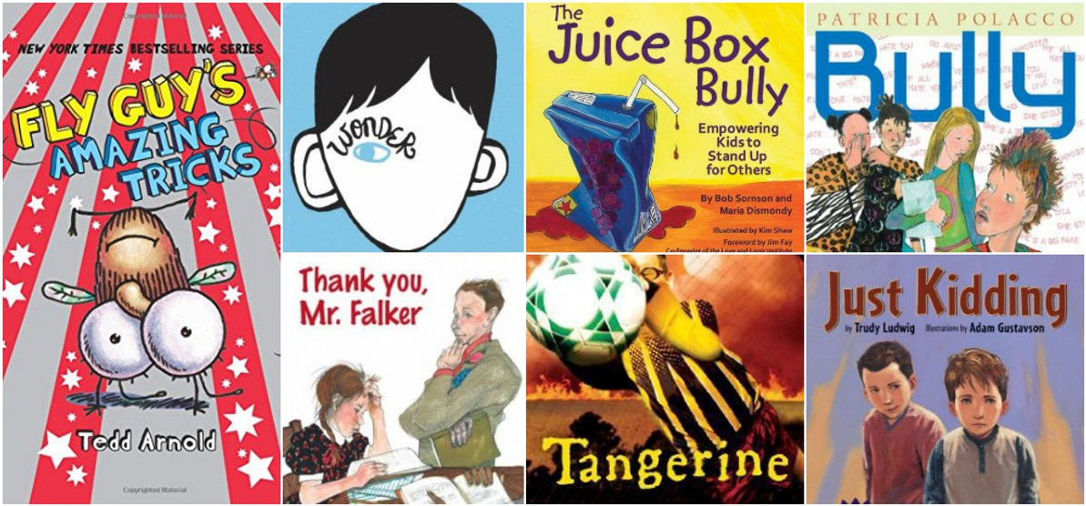 7 Books About Bullying for National Bullying Prevention Month!