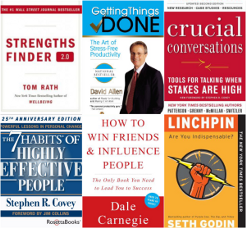 6 Business Books Every Employee Should Read