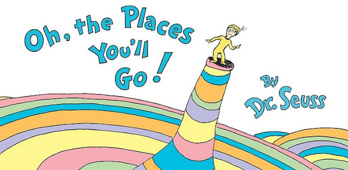 Happy 25th Anniversary to Oh, the Places You'll Go!