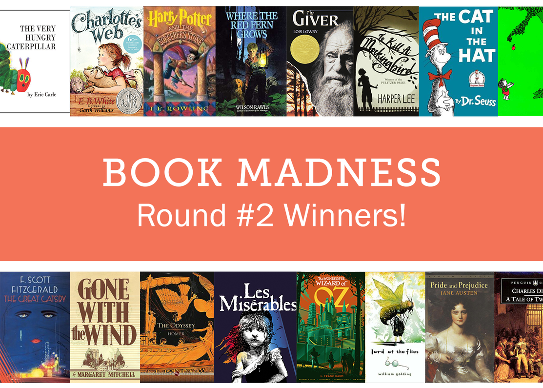 Book Madness Round #2: The Round of Upsets!