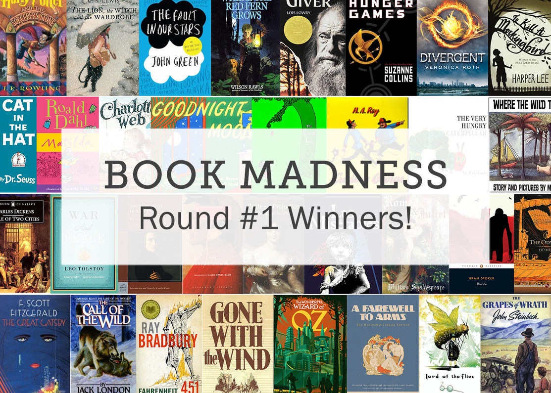 Join the Book Madness: 1st Round Highlights
