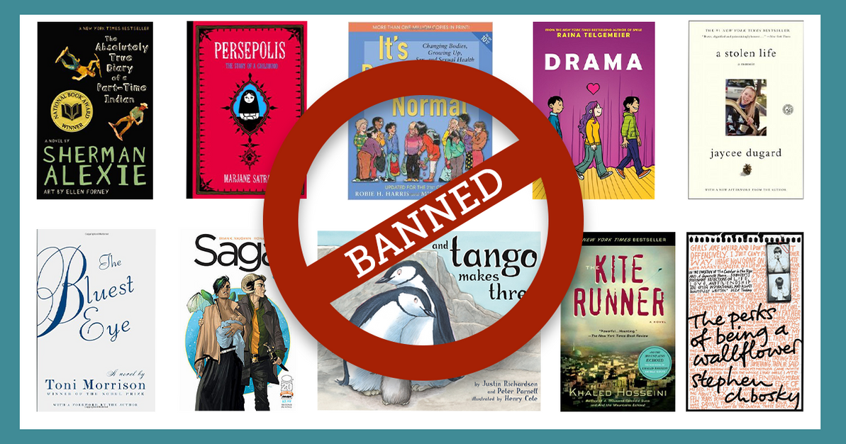 Top 10 Banned Books of 2014