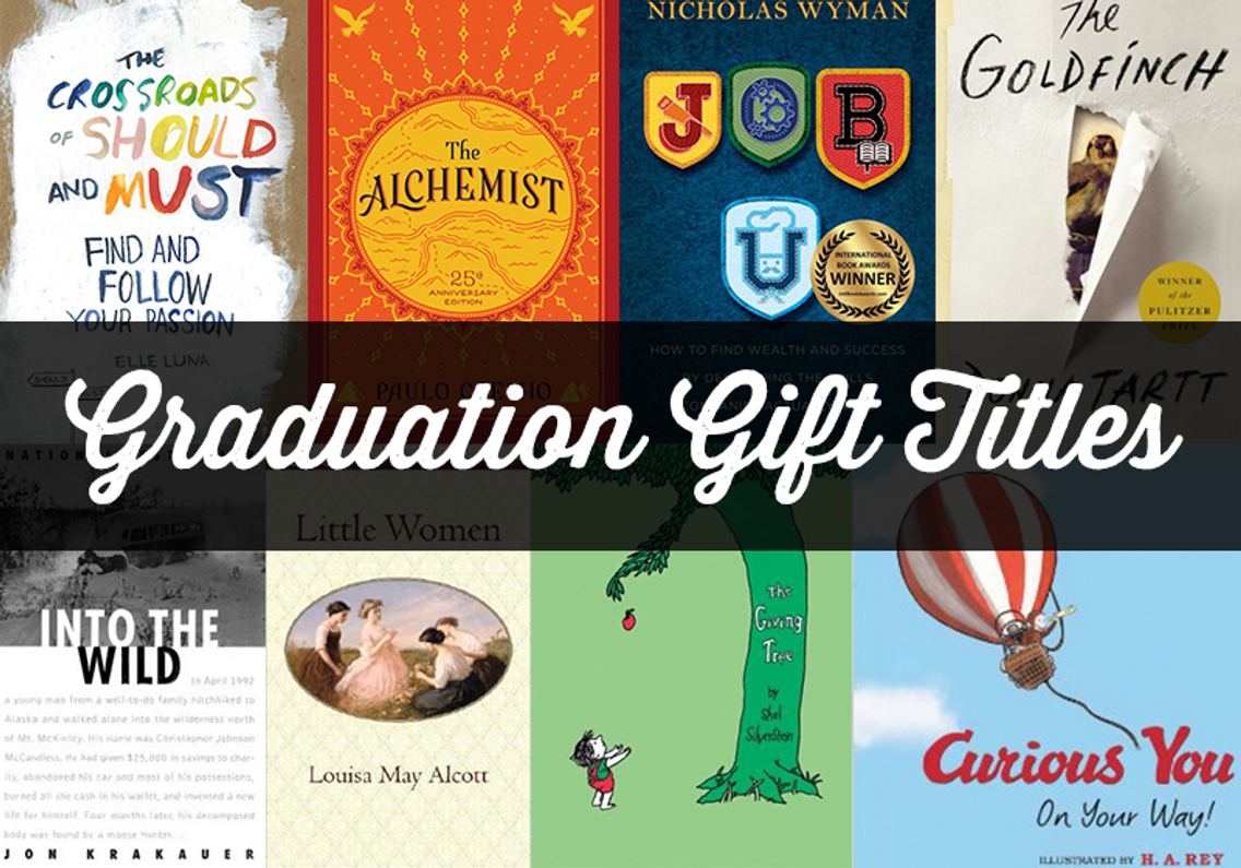 8 Books That Make Great Graduation Gifts