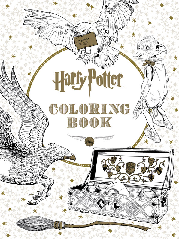 Here's a Sneak Peek of the Upcoming Harry Potter Coloring Book!