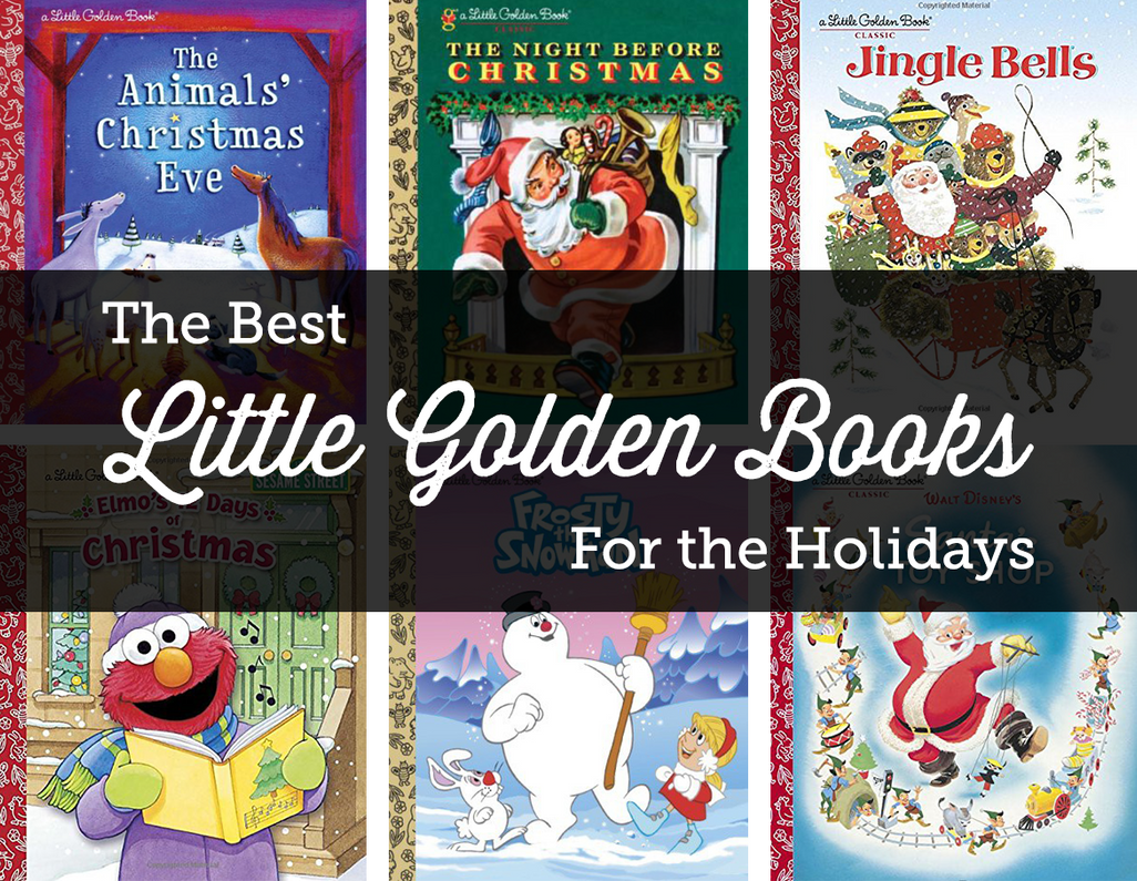 The Best Little Golden Books for the Holiday Season