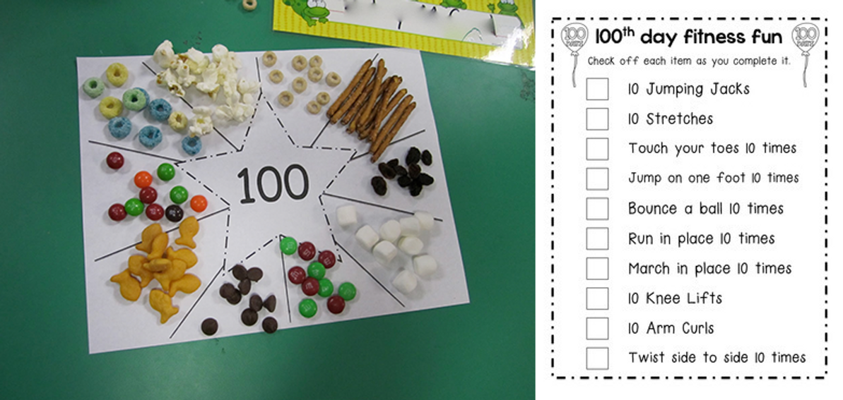 5 Fun Ideas to Help You Celebrate The 100th Day of School