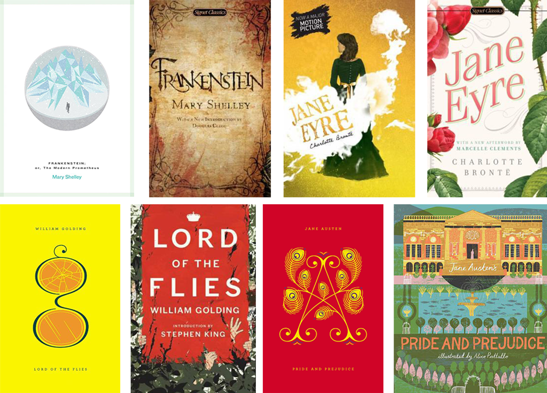 9 Classic Books That Got Beautiful Makeovers