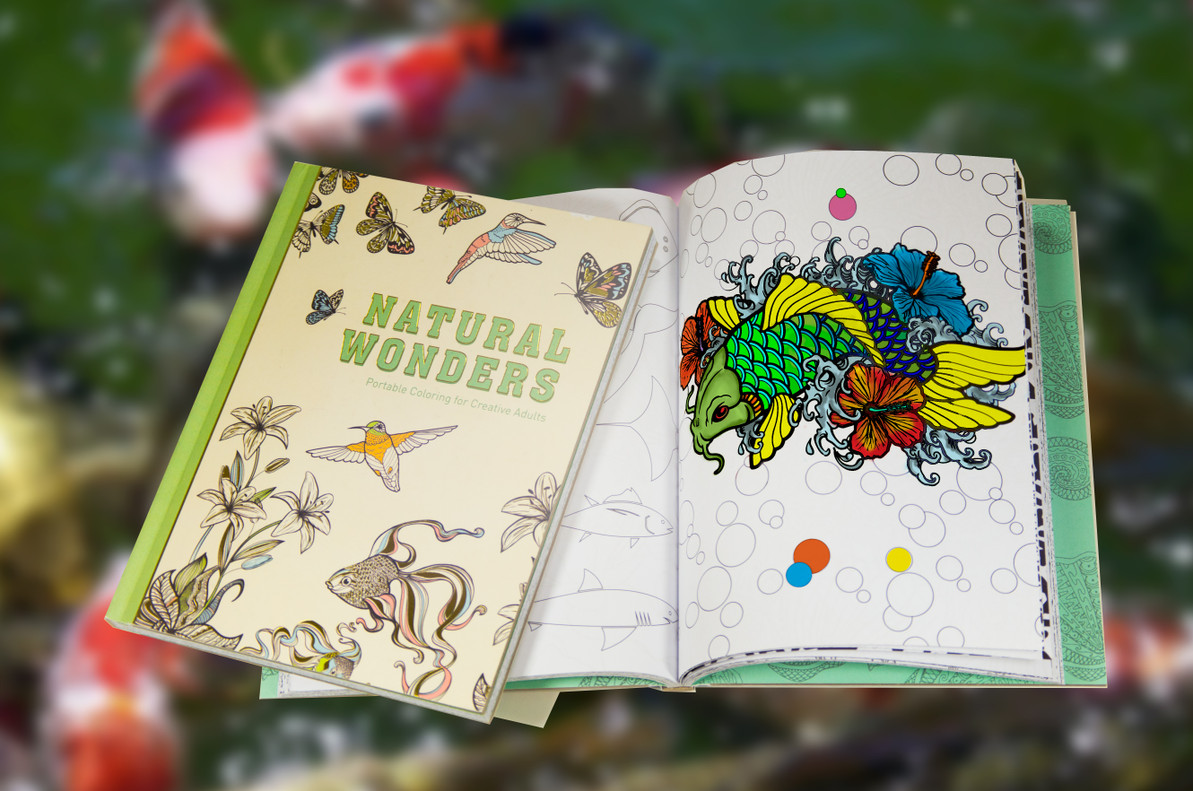 Why Adult Coloring Books Are Here to Stay