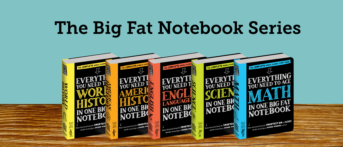 This Big Fat Notebook Series is Taking Schools by Storm