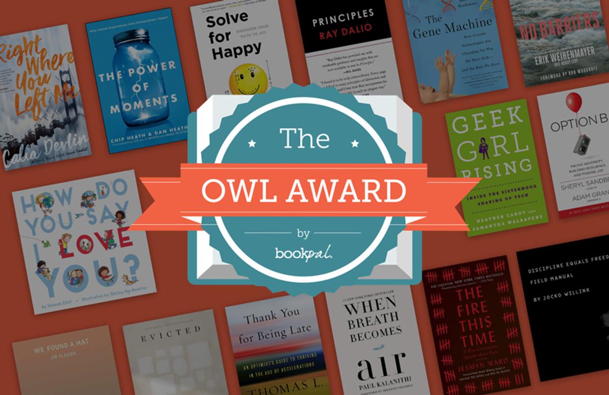 BookPal's OWL Book Awards Longlist