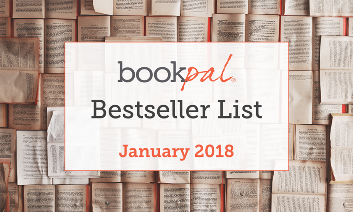 BookPal's Bestseller List: The Best Books of January 2018