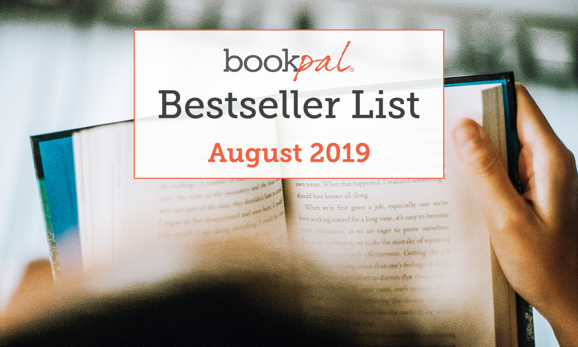 BookPal's Bestseller List: The Best Books of August 2019