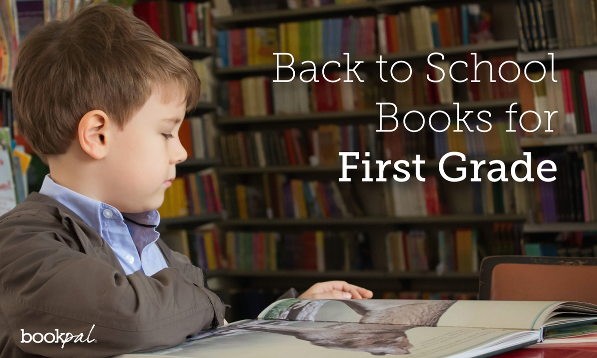Top 6 Back To School Books for First Grade