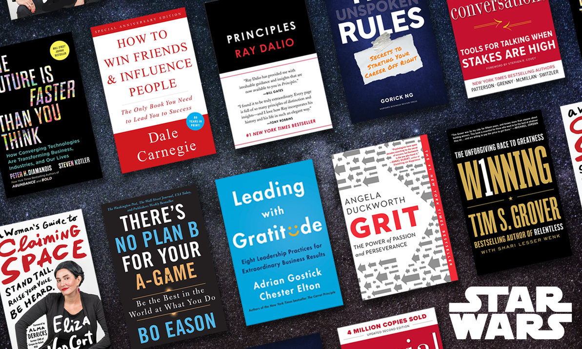 10 Business Books by Star Wars Personas