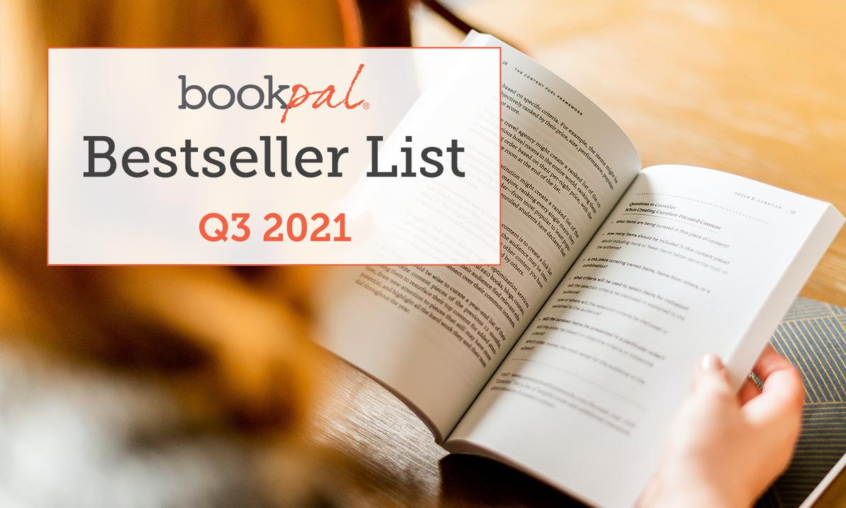 BookPal's Bestseller List: The Best Books of Q3 2021