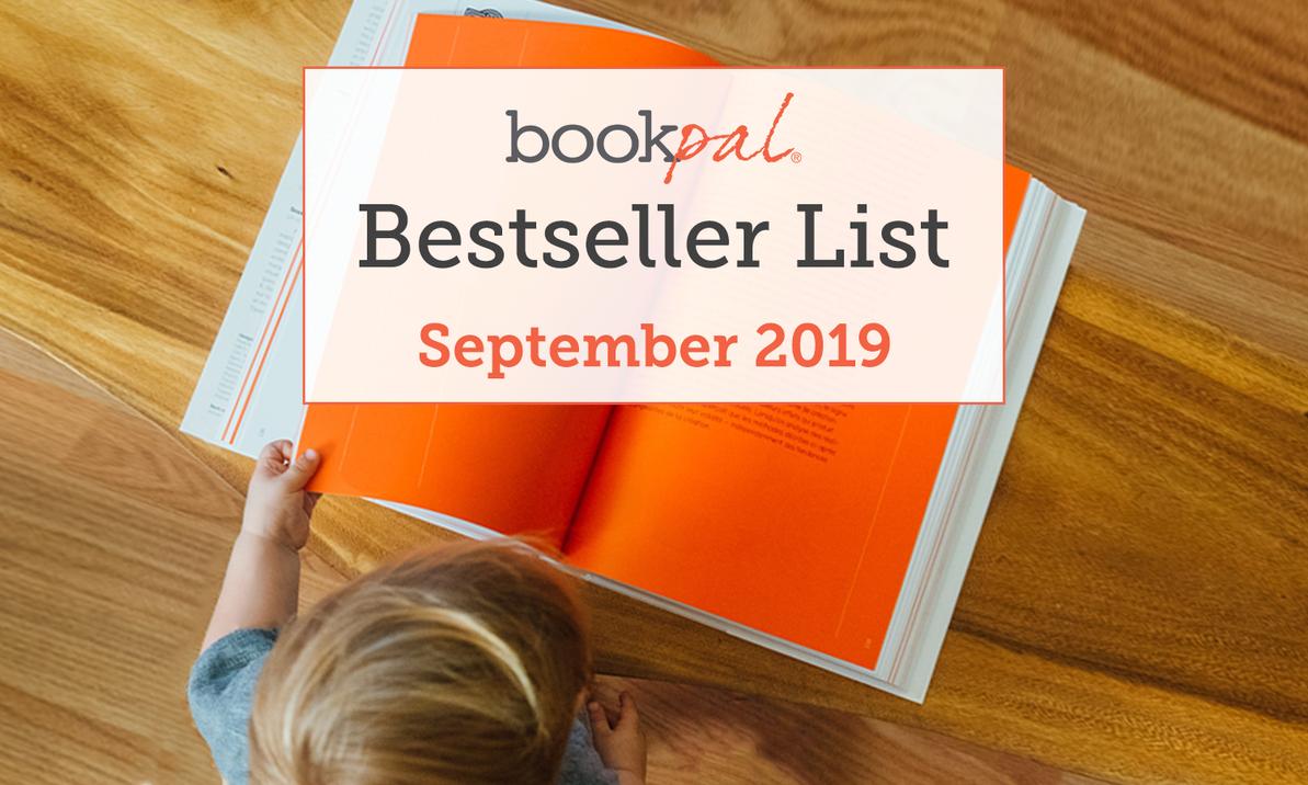 BookPal's Bestseller List: The Best Books of September 2019