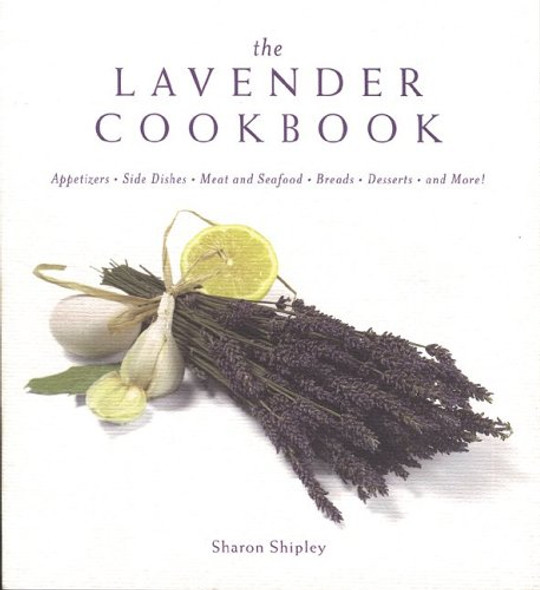 The Lavender Cookbook Cover