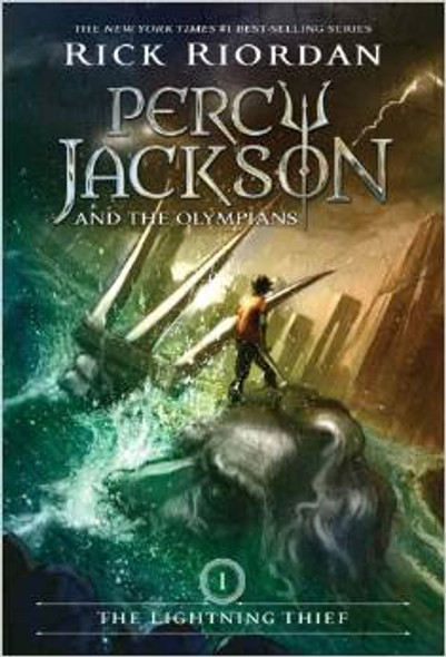 The Lightning Thief (Percy Jackson and the Olympians, Book 1) Cover