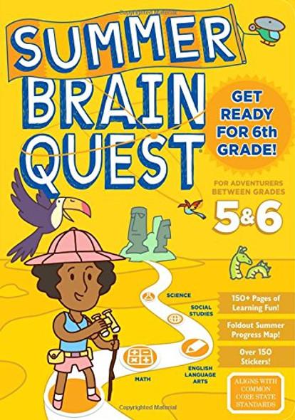 Summer Brain Quest: Between Grades 5 & 6 Cover