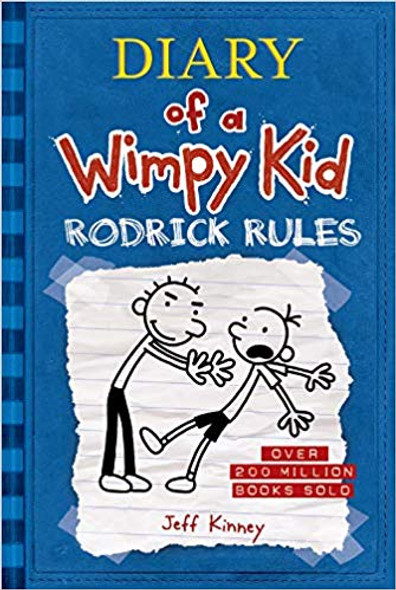 Rodrick Rules (Diary of a Wimpy Kid #2) Cover