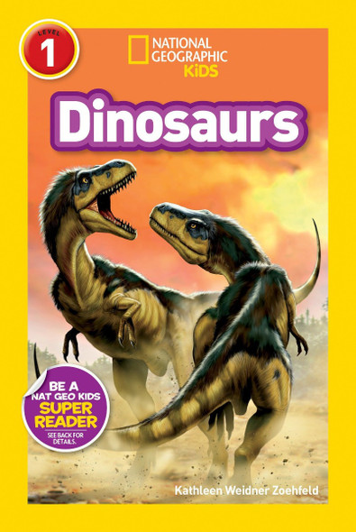 National Geographic Readers: Dinosaurs Cover