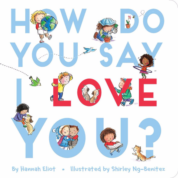 How Do You Say I Love You? Cover
