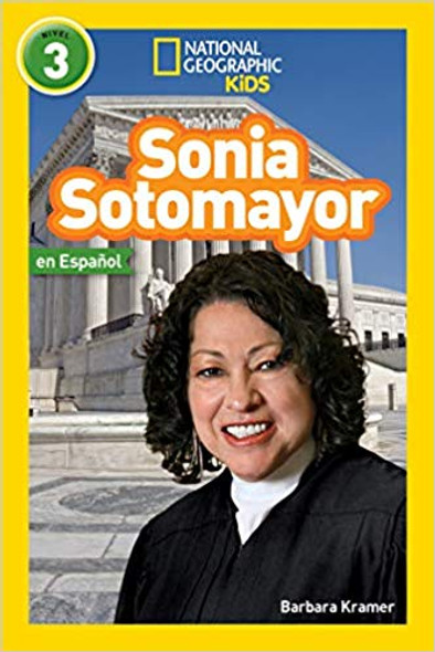 National Geographic Readers: Sonia Sotomayor (Spanish) Cover