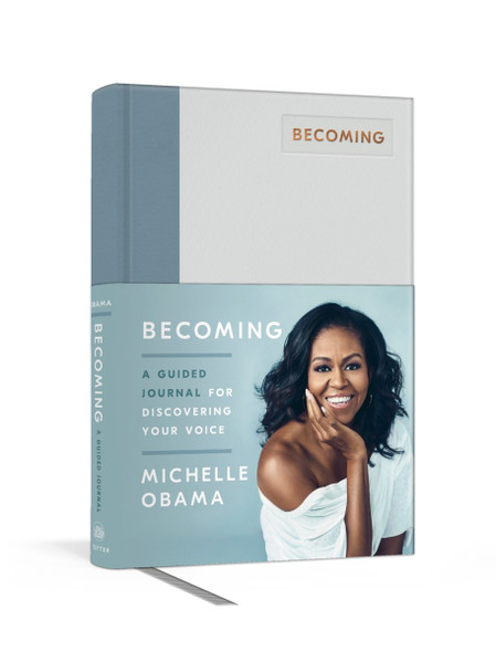 Becoming: A Guided Journal for Discovering Your Voice Cover