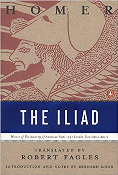 The Iliad (Penguin Classics Deluxe Edition) Cover