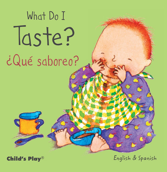 What Do I Taste? / Que Saboreo? (English and Spanish Edition) Cover
