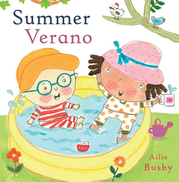 Summer/Verano (English and Spanish Edition) Cover