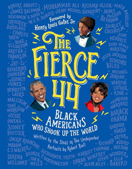 The Fierce 44: Black Americans Who Shook Up the World Cover