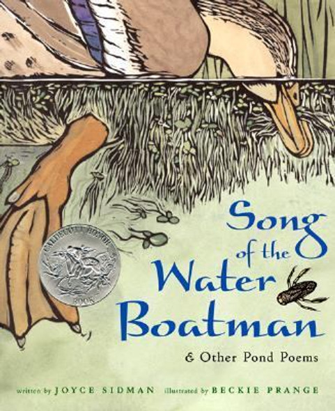 Song of the Water Boatman and Other Pond Poems Cover