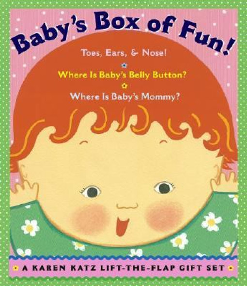 Baby's Box of Fun Set: Where Is Baby's Belly Button - Where Is Baby's Mommy? - Toes, Ears, and Nose Cover