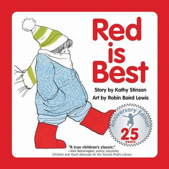 Red Is Best (Anniversary) (25TH ed.) Cover