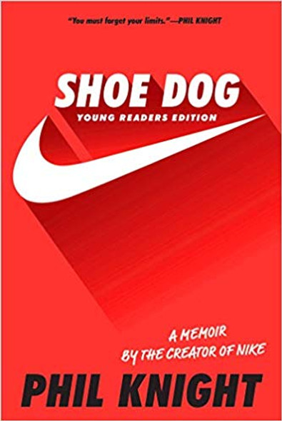 Shoe Dog: Young Readers Edition (Reprint) Cover