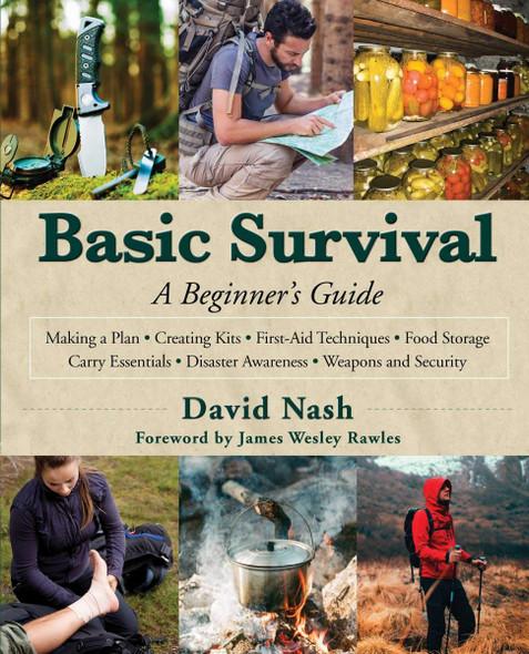 Basic Survival: A Beginner's Guide Cover