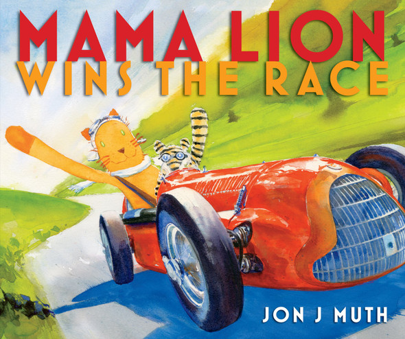 Mama Lion Wins the Race Cover