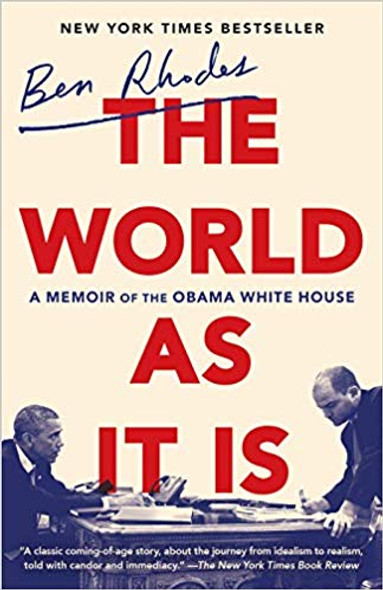 The World as It Is: A Memoir of the Obama White House Cover
