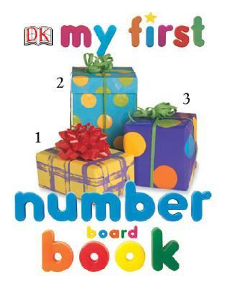 My First Number Board Book Cover
