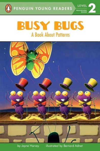 Busy Bugs: A Book about Patterns - Cover