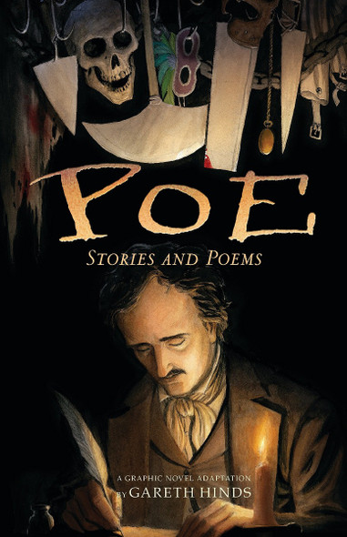 Poe: Stories and Poems: A Graphic Novel Adaptation by Gareth Hinds Cover