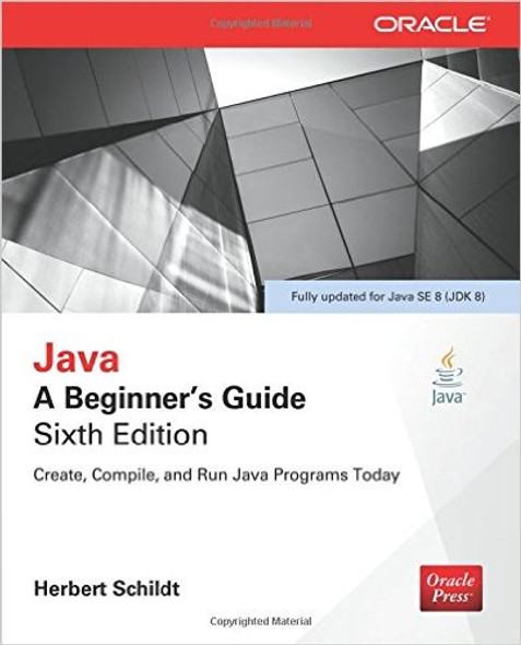 Java: A Beginner's Guide, Sixth Edition (Revised) Cover