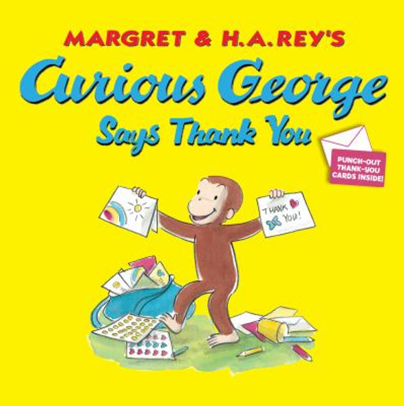 Curious George Says Thank You Cover