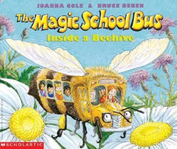 The Magic School Bus Inside a Beehive Cover