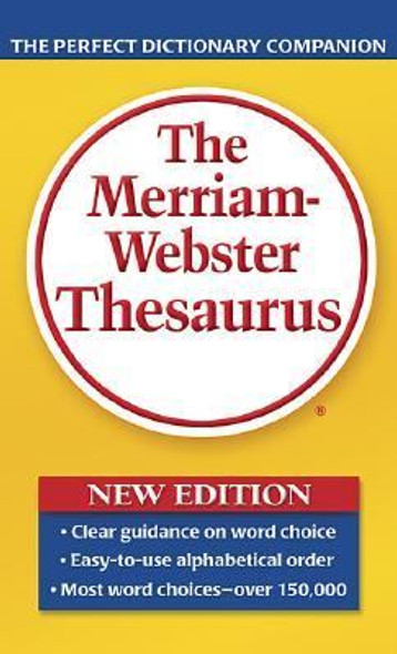 The Merriam-Webster Thesaurus Cover