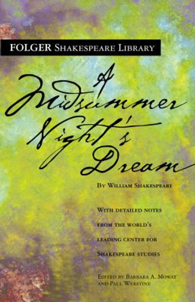 A Midsummer Night's Dream ( Folger Shakespeare Library ) Cover