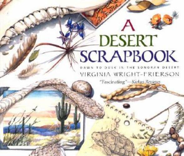 A Desert Scrapbook: Dawn to Dusk in the Sonoran Desert Cover