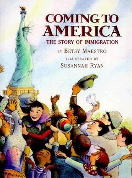 Coming to America: The Story of Immigration Cover