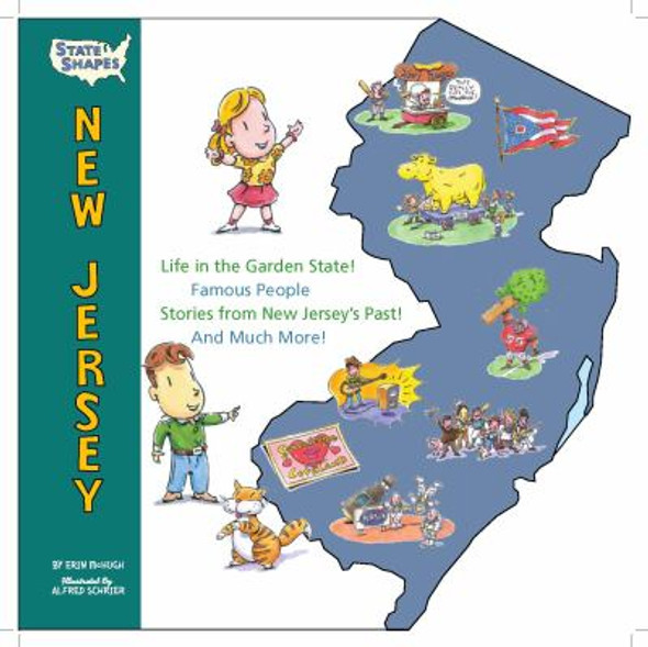 State Shapes New Jersey Cover
